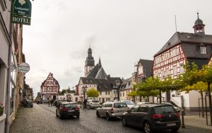 Rush-Hour in Kirchberg...